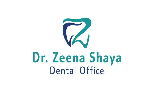 Dr Zeena Shaya Dental Office Logo