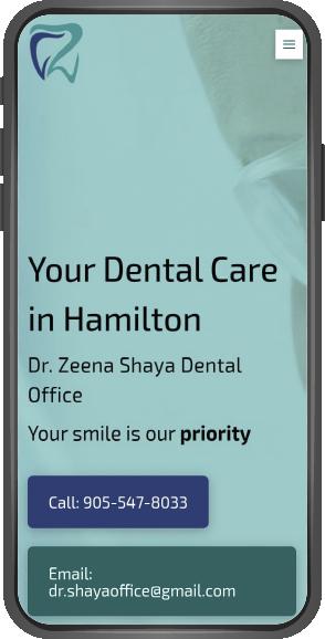 Dr Zeena Shaya Dental Mobile